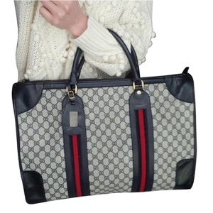 Authentic Vintage Gucci Duffle Carry on